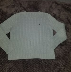 RLL cable knit sweater